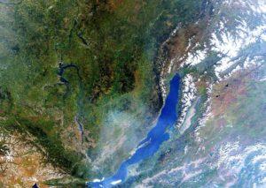 Baikal from space