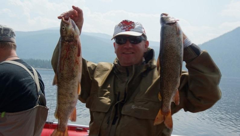 7 days fishing tour in Tyuva republic