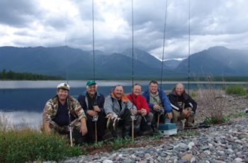 Fishing tours through the Siberia and Far east of Russia...