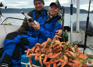 Kamchatka fishing tour