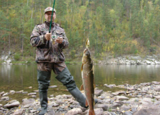 Khabarovsk Region fishing tour