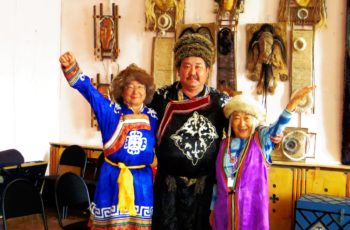 Buryat culture and shaman show
