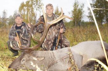 Hunting in Siberia