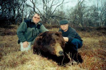 Охота на камчатского медведя
