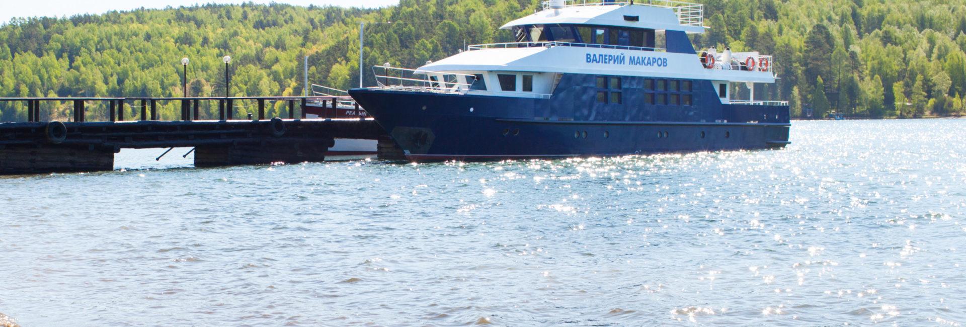 Cruise ships on Baikal